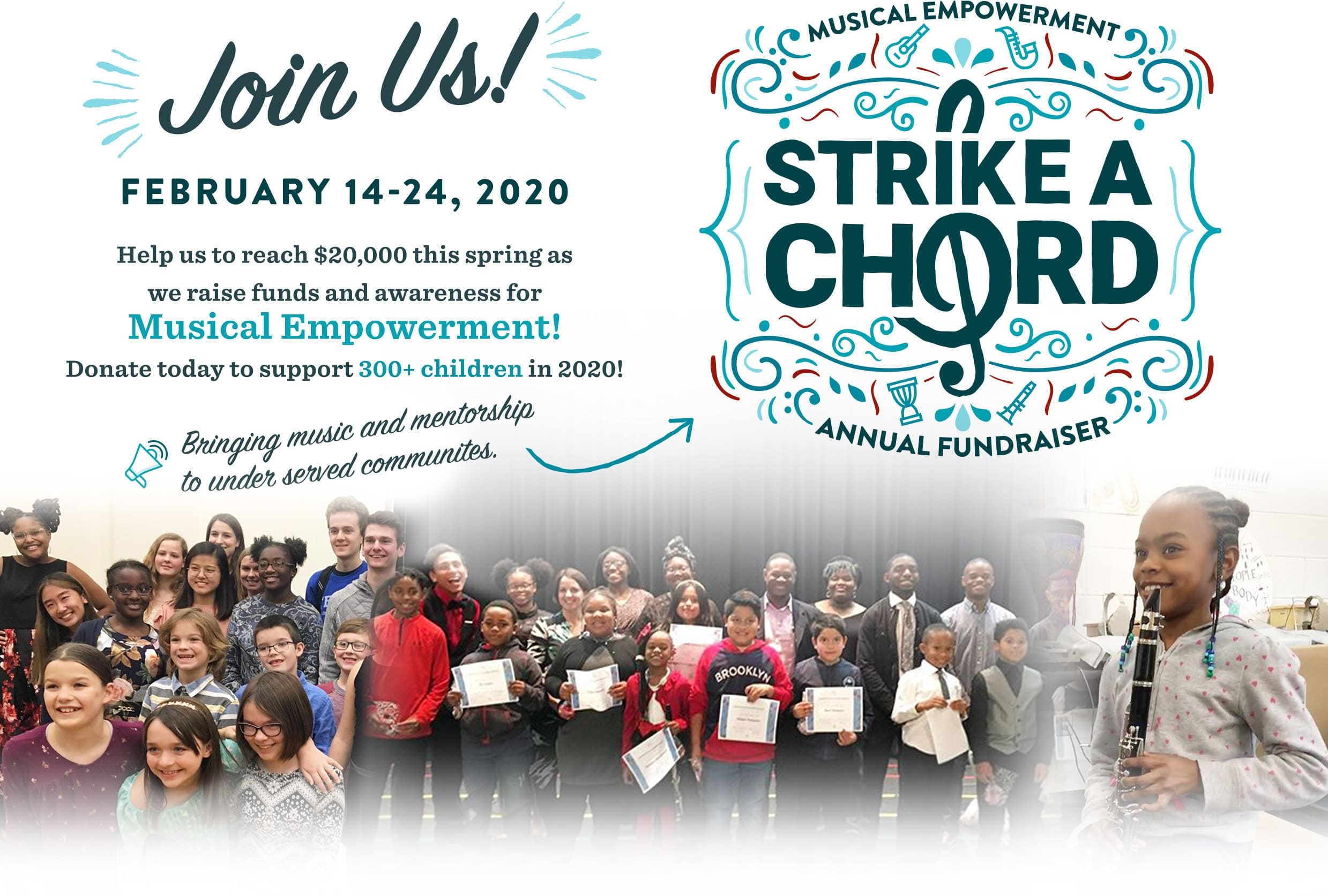 Strike a Chord with Musical Empowerment 15   Campaign