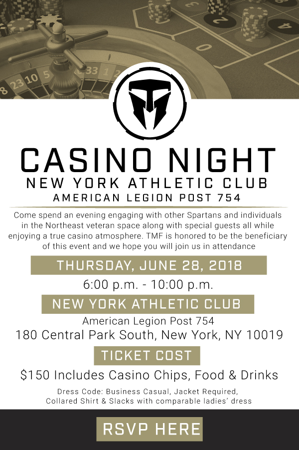 Join Us for Casino Night at New York Athletic Club