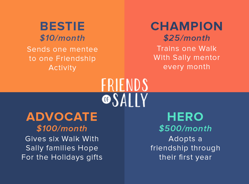 Donate to Friends of Sally