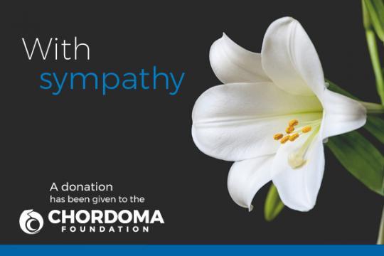 Donate to Chordoma Foundation