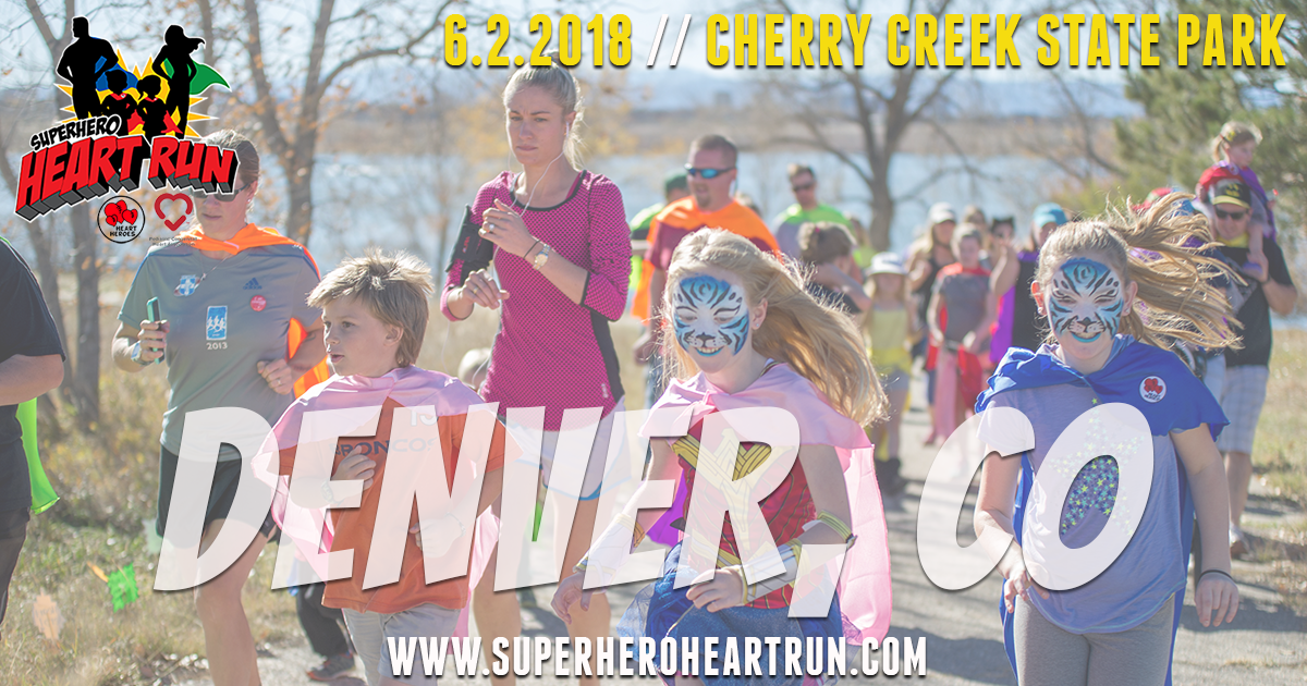 Donate to Denver 2018 Superhero Heart Run