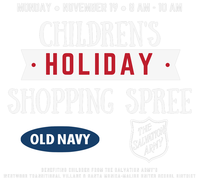 e723be75a4 Santa Monica Children's Holiday Shopping Spree
