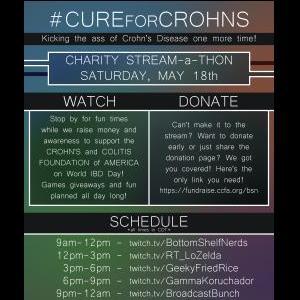 Fundraising for Crohn's & Colitis Foundation