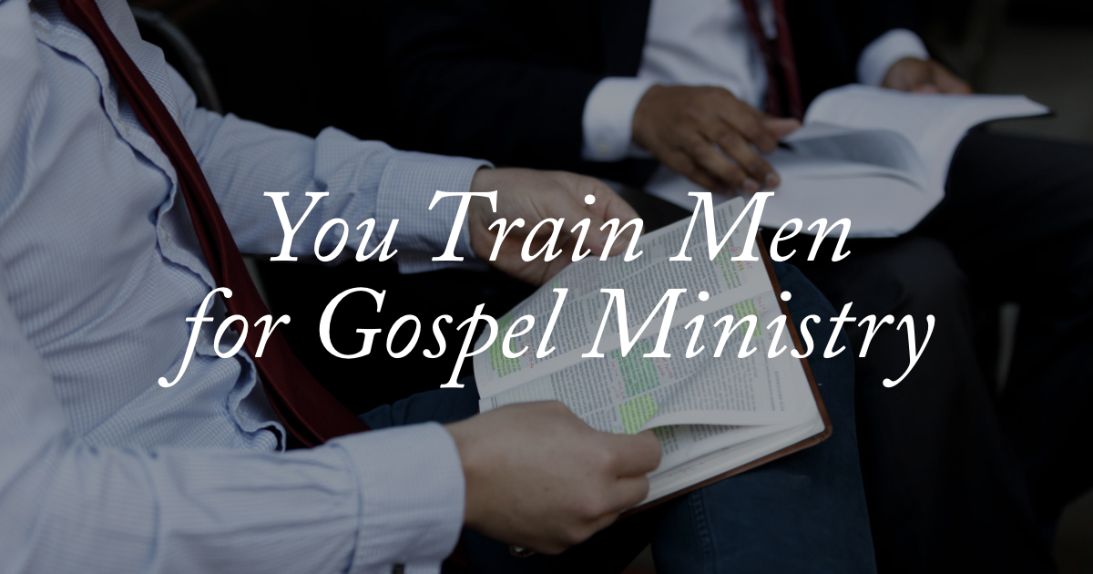 Giving to The Master's Seminary