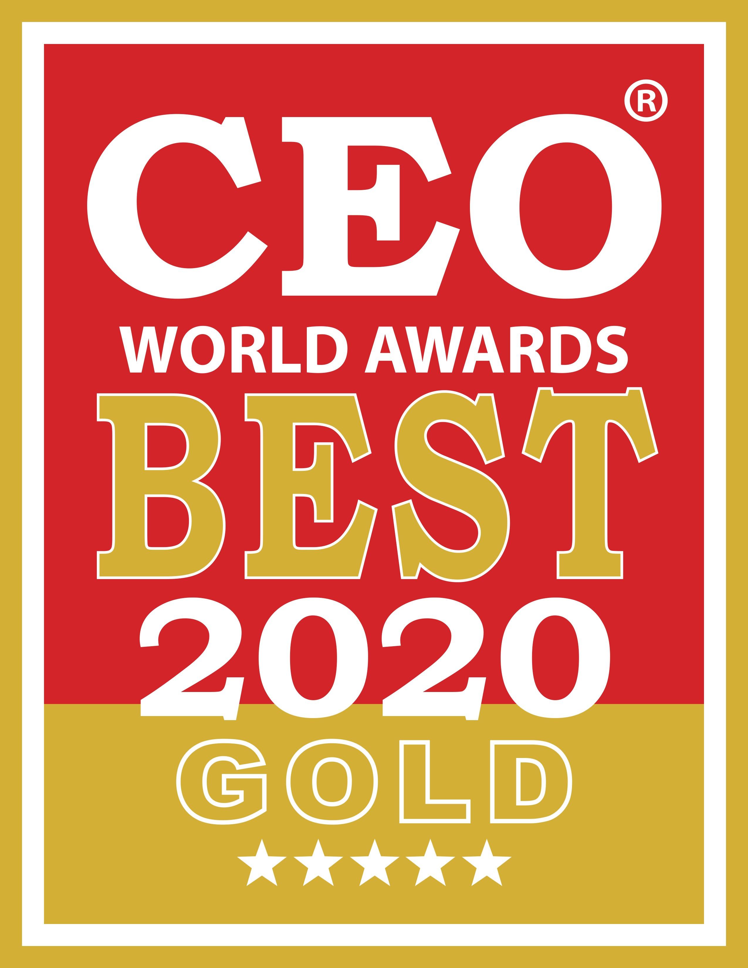 CEO World Awards 2020