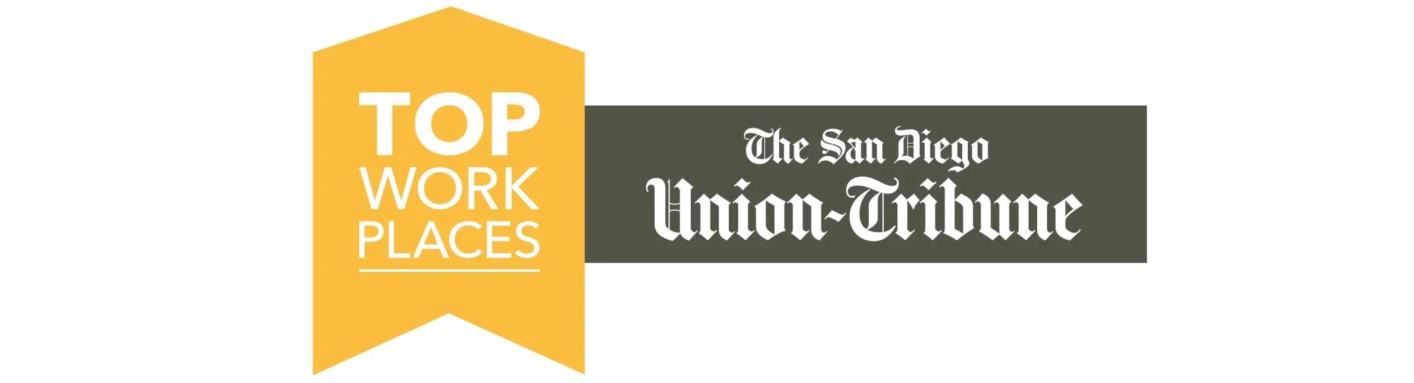 San Diego Union Tribune Top Workplaces
