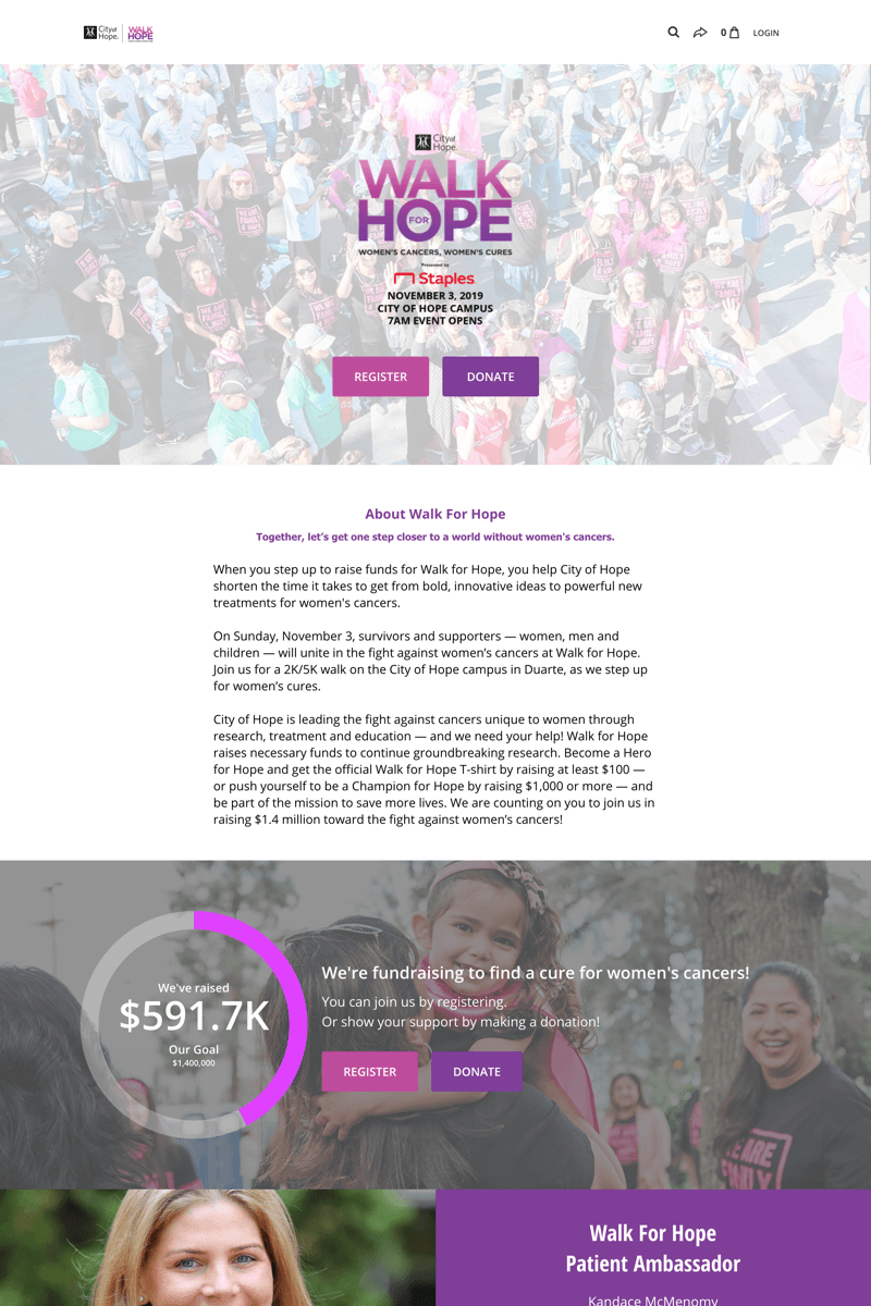 City of Hopecampaign image
