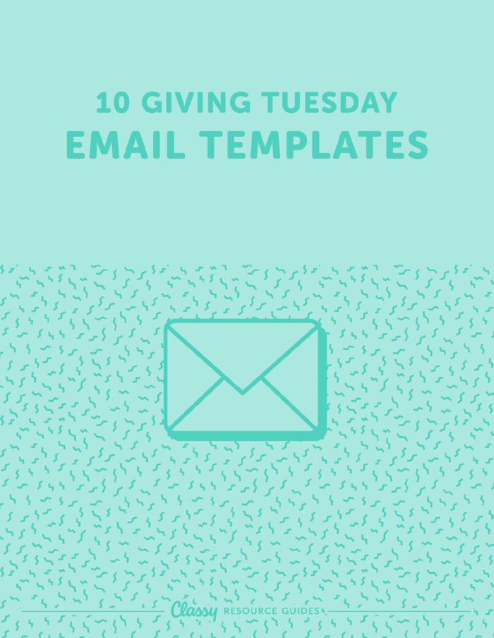 Cover photo of 10 Giving Tuesday Email Templates asset available by downloading resources