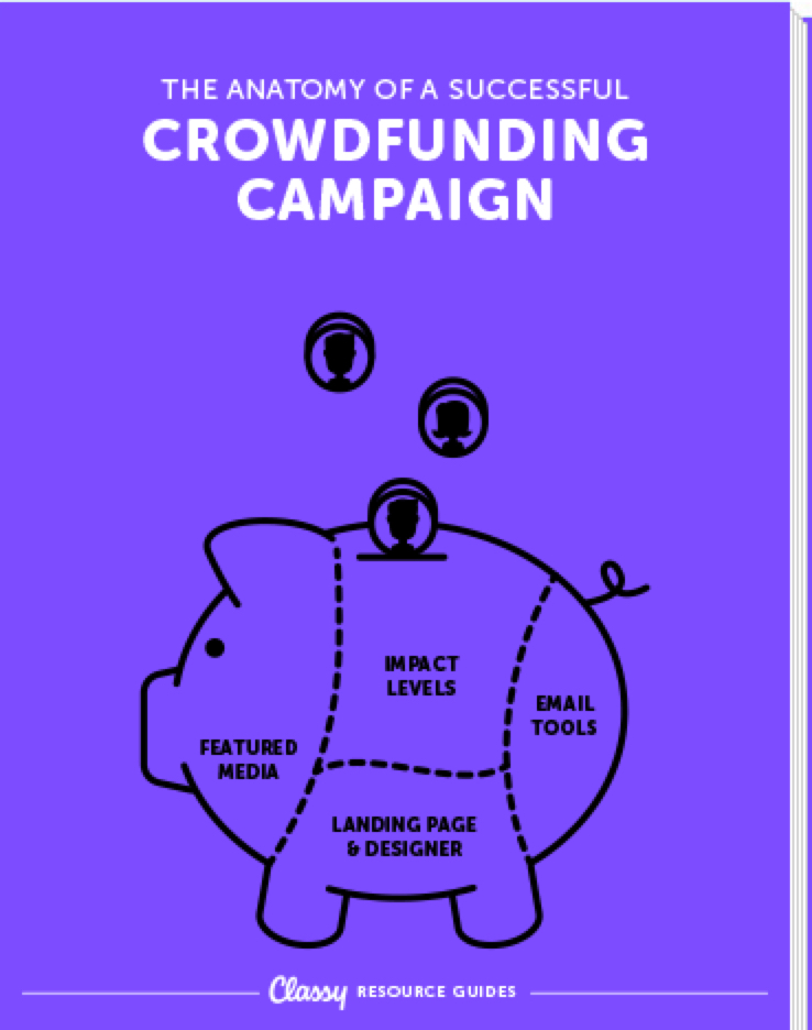 Anatomy of a Successful Crowdfunding Campaign resource guide cover