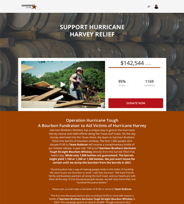 Team Rubicon's Hurricane Harvey Relief Campaign thumbnail
