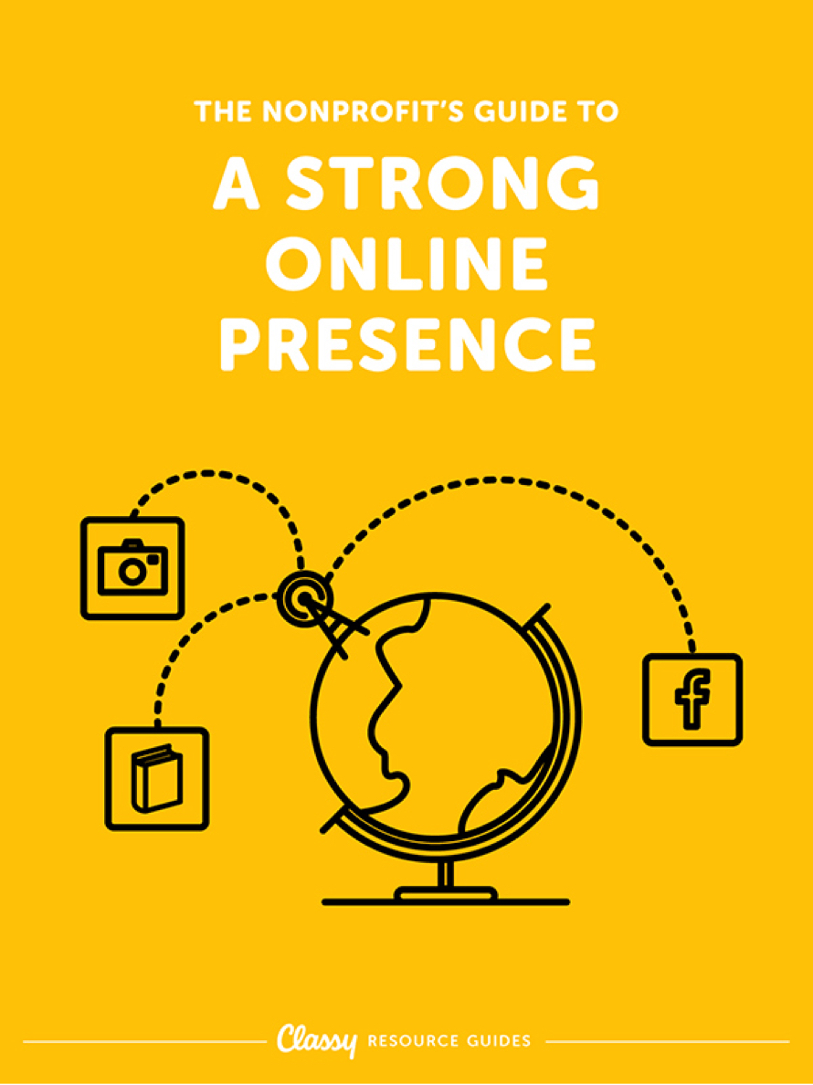 The Nonprofit's Guide to A Strong Online Presence resource guide cover