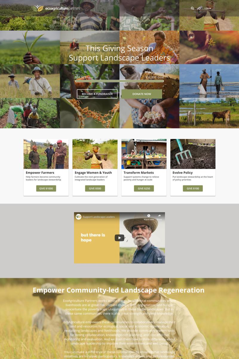 EcoAgriculture Partners' Landscape Leaders Campaigncampaign image
