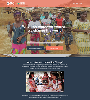 Project Concern International's Women United for Change Campaignthumbnail