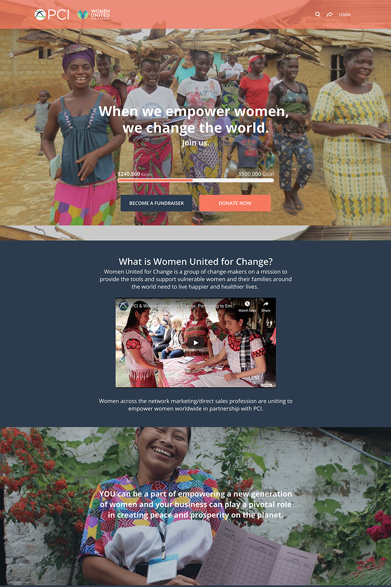 Project Concern International's Women United for Change Campaigncampaign image