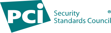 Logo for the PCI Security Standards Council certifying PCI Level 1 compliance