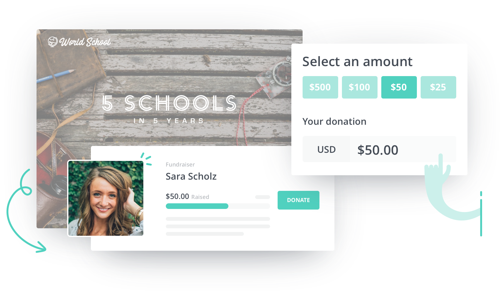 Crowdfunding Campaign for World School